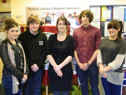 Painsley Catholic College CoPE L3 students