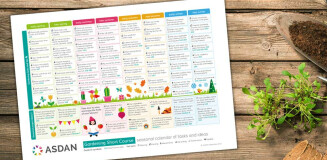 Free gardening calendar resource to support mental health and wellbeing