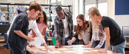 Develop young people's competencies for learning, work and life