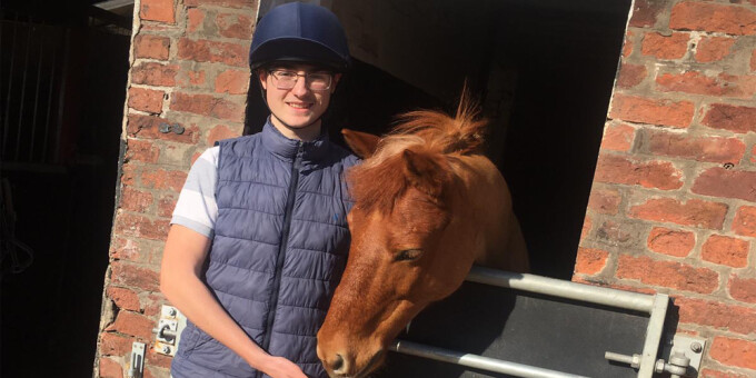 Learners are 'absolutely buzzing' following innovative equine course