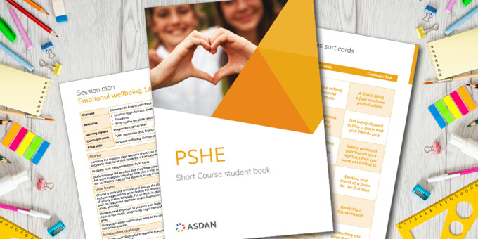 Comprehensive resources will support high quality PSHE provision