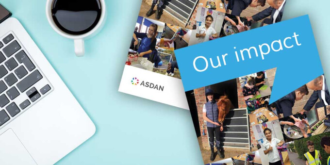 Impact magazine contains inspiring stories on ASDAN courses